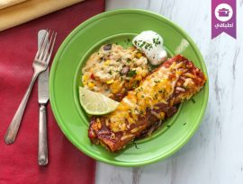 Enchilladas meat
