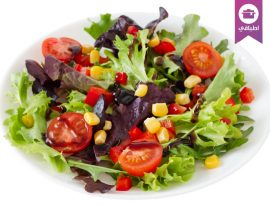 Lettuce corn salad
