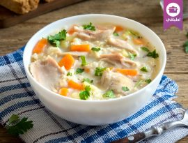 Chicken soup creamy