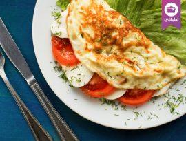 Omelette Mozarella
