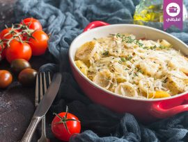 Potato chicken cheese